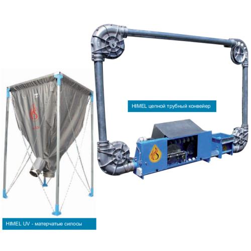 Оборудование для раздачи и дозирования корма Himel