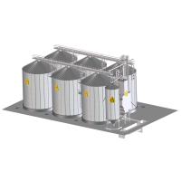 Оборудование для очистки, сортировки,сушки и хранения зерна Himel